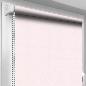 Рулонные шторы батист цвет светло-розовые