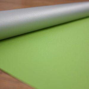 Рулонные шторы блэкаут серебро Зеленый луч