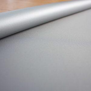 Рулонные шторы блэкаут серебро Серый лед