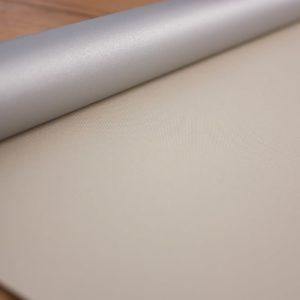 Рулонні штори Оазис блекаут срібло – колір латте