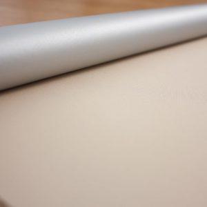 Рулонні штори Оазис блекаут срібло – колір пряжене молоко
