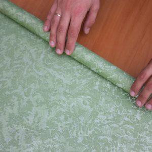 Рулонні штори Венеція колір зелене яблоко