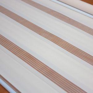 Рулонні штори зебра колір бісквіт