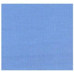 Шторы лён – цвет голубой