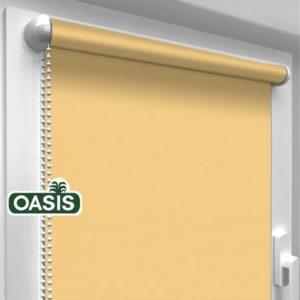 Тканеві ролети Oasis батист – колір золотий пісок