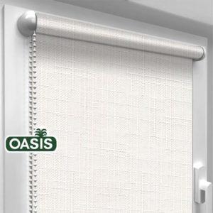 Рулонні штори льон Oasis полотно
