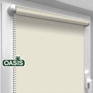 Тканеві ролети Oasis батист – колір Рисовіий папір