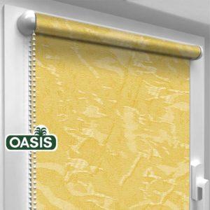 Рулонні штори Oasis Венеція жовтий колір