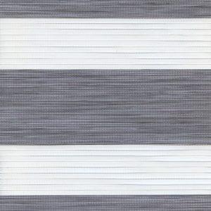 Рулонні штори зебра-wood Рустик сірий
