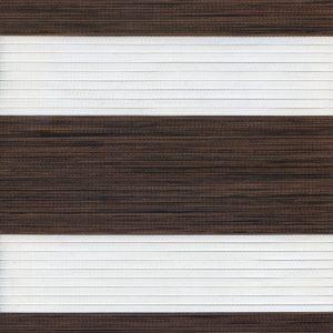 Рулонні штори зебра-wood Махагон