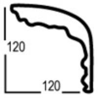 Карниз из полиуретана  PC-1704