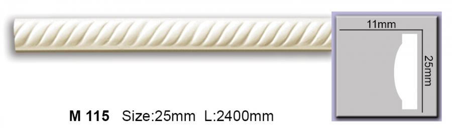 Молдинг полиуретановый с орнаментом CM-0251