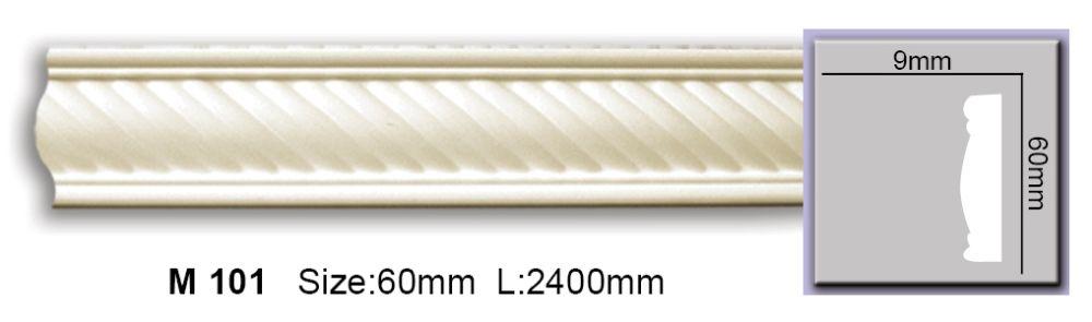 Молдинг полиуретановый с орнаментом CM-0601