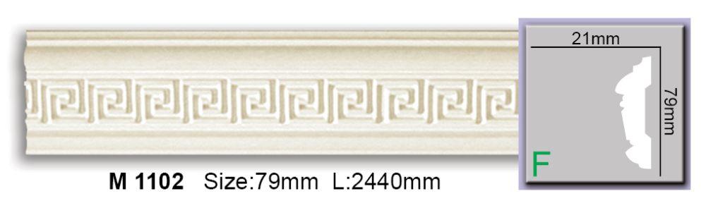 Молдинг полиуретановый с орнаментом CM-0751