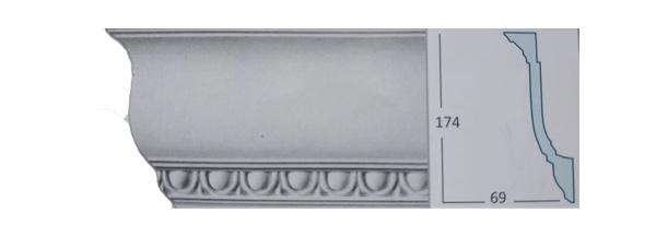 Багет с орнаментом СС-1871