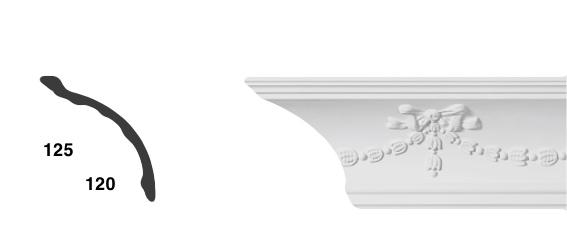 Карниз с орнаментом СС-1881