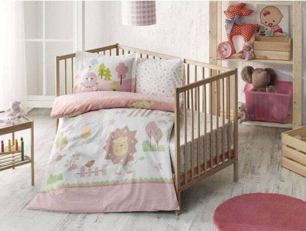 komplekt-postelnogo-belja-v-krovatku-tac-happy-zoo-pink-ranfors