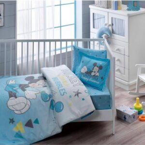 Комплект детского постельного белья TAC Mickey Bubble Ранфорс