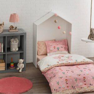 Комплект постільної білизни в ліжечко TAC Game Pink Ранфорс