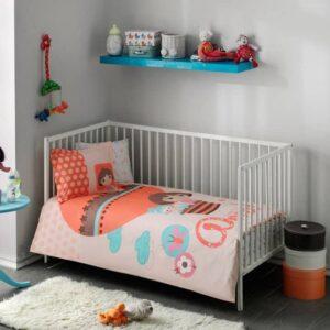 Комплект постільної білизни в ліжечко TAC Dora Baby Ранфорс