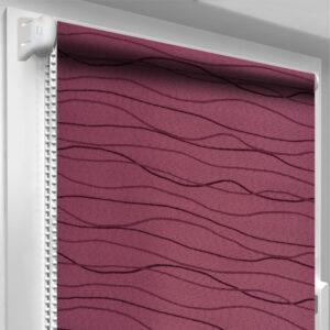 Рулонные шторы DecoSharm Фала Фиолетовые