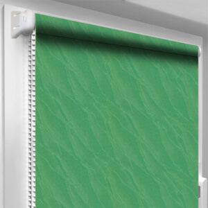 Рулонные шторы DecoSharm Вода Зеленые