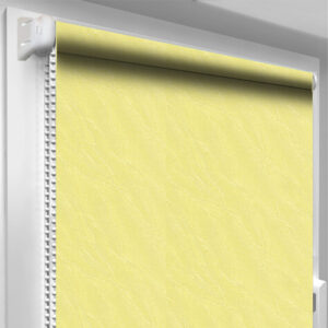 Рулонные шторы DecoSharm Вода Жёлтые