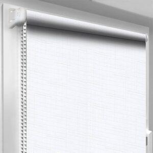 Рулонні штори Льон DecoSharm Білі арт800