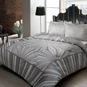 Постельное белье сатин евро комплект ТАС Venus Grey