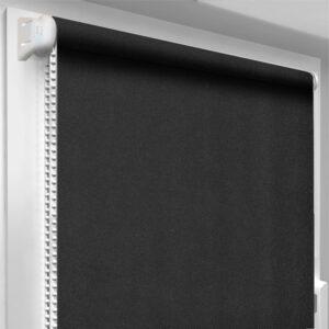 Шторы блекаут черные DecoSharm Термо арт 305