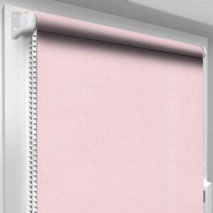 Штори блекаут рожеві DecoSharm Термо арт307