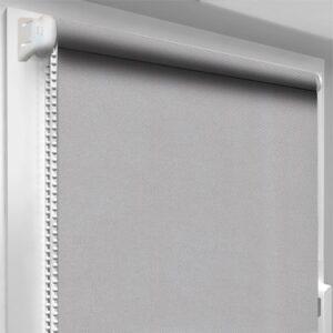 Шторы блекаут серые DecoSharm Термо арт 054