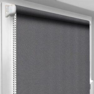 Шторы блекаут серые DecoSharm Термо арт 061