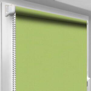 Штори блекаут зелені DecoSharm Термо арт 205
