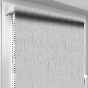Шторы блекаут серые DecoSharm Термо арт 064