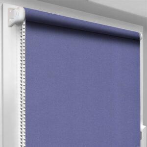 Шторы блекаут фиолетовые DecoSharm Акрил арт 206