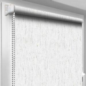 Шторы блекаут серые DecoSharm Термо арт 063